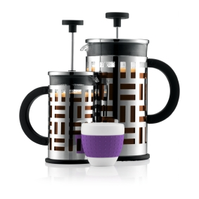 French Press Coffee Maker Demo : Bodum marketing material created with Perfion Perfion