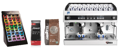 Merrild Lavazza has only about 130 products, but the amount of product information is extremely extensive