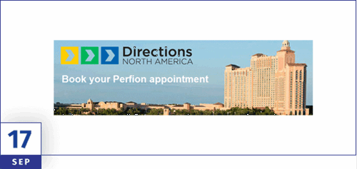 Book your Perfion PIM appointment for Directions NA